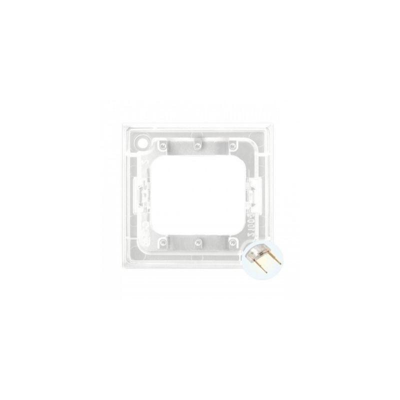 Osprzet-produkty-uzupelniajace - moduł podświetlający led do włączników potrójnych biały zp-4ub aria ospel firmy OSPEL