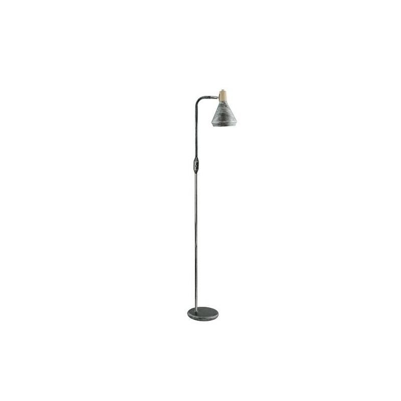 Lampy-stojace - czarna lampa podłogowa w minimalistycznym stylu rubik 140 e14 03574 ideus firmy IDEUS