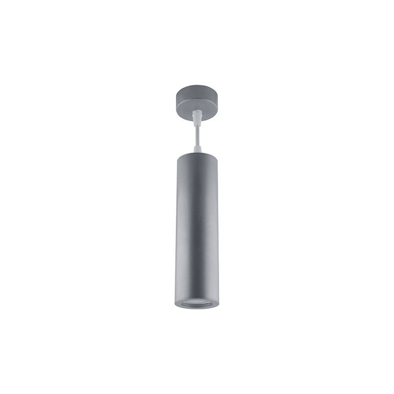 Lampy-sufitowe - lampa sufitowa wespa gu10 srebrna 03500 ideus firmy IDEUS