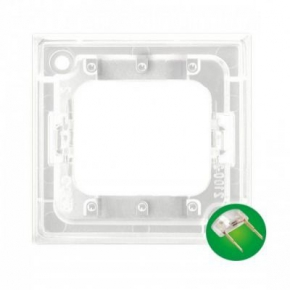 Osprzet-produkty-uzupelniajace - moduł podświetlający led do włączników potrójnych zielony zp-4uz aria ospel