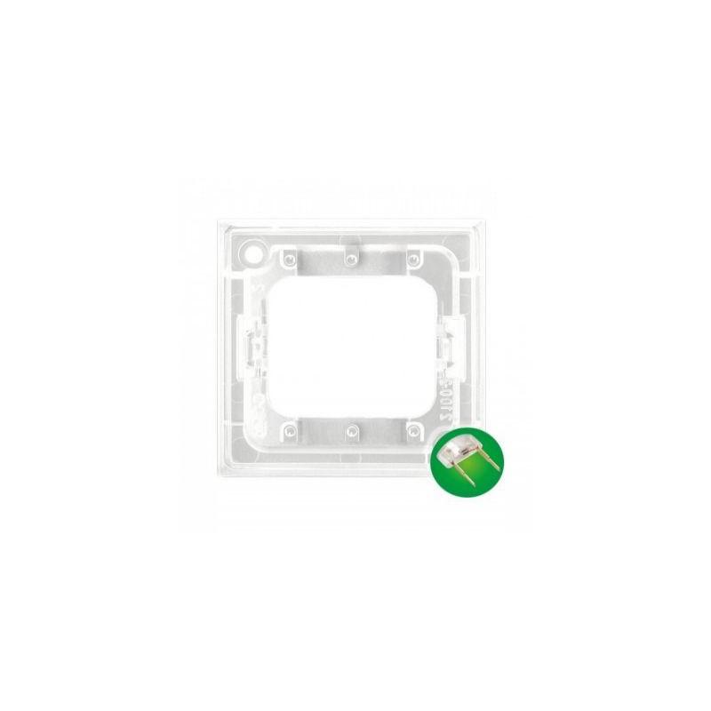 Osprzet-produkty-uzupelniajace - moduł podświetlający led do włączników potrójnych zielony zp-4uz aria ospel firmy OSPEL