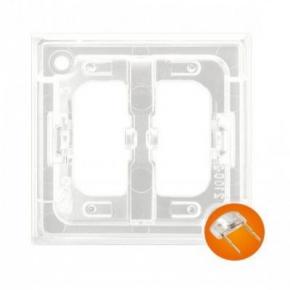 Osprzet-produkty-uzupelniajace - moduł podświetlający do włączników pomarańczowy zp-1up aria ospel
