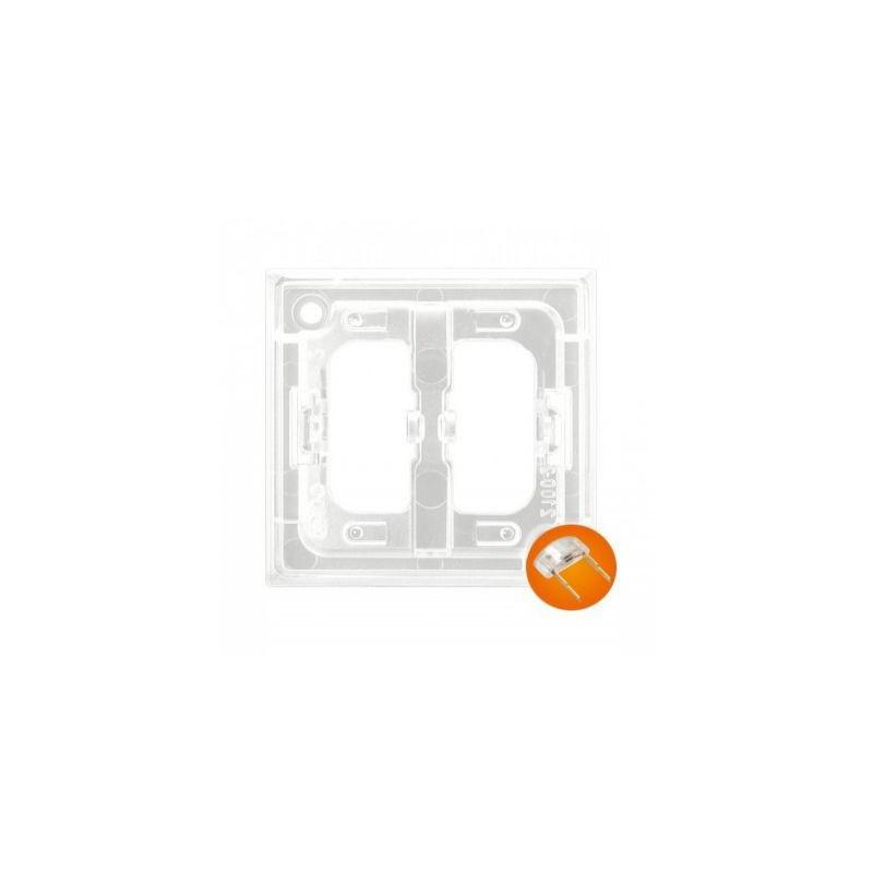 Osprzet-produkty-uzupelniajace - moduł podświetlający do włączników pomarańczowy zp-1up aria ospel firmy OSPEL