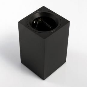 Oprawy-sufitowe - dekoracyjna oprawa sufitowa sensa mini gtv kwadratowa czarna aluminium