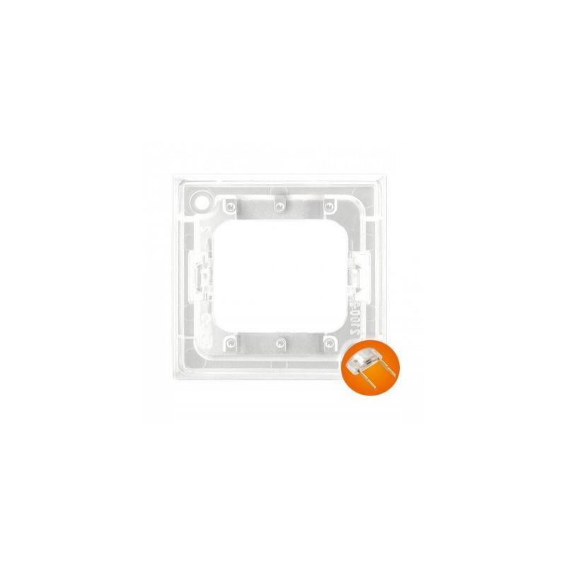 Osprzet-produkty-uzupelniajace - moduł podświetlający do włączników potrójnych pomarańczowy zp-3up aria ospel firmy OSPEL