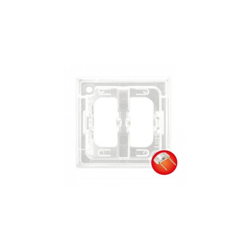 Osprzet-produkty-uzupelniajace - moduł podświetlający do włączników czerwony zp-2uc aria ospel firmy OSPEL