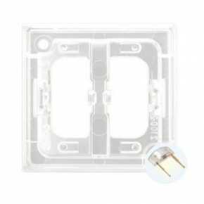Osprzet-produkty-uzupelniajace - moduł podświetlenia led do włączników biały zp-2ub aria ospel