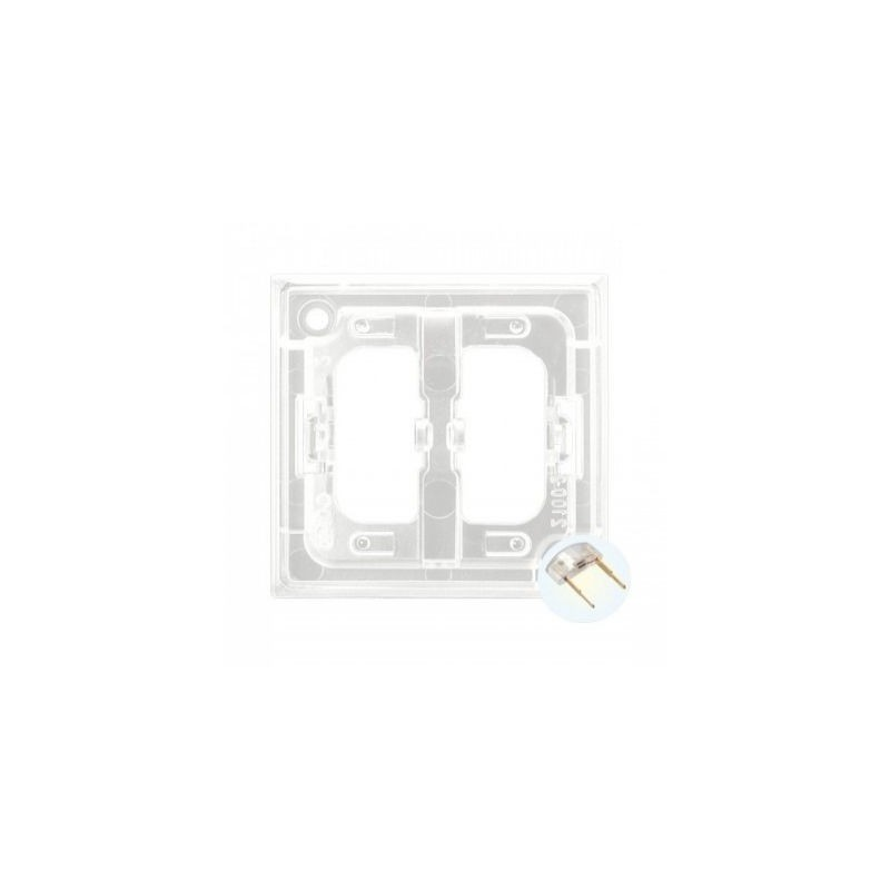Osprzet-produkty-uzupelniajace - moduł podświetlenia led do włączników biały zp-2ub aria ospel firmy OSPEL