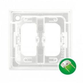 Osprzet-produkty-uzupelniajace - moduł podświetlenia led do włączników zielony zp-2uz aria ospel