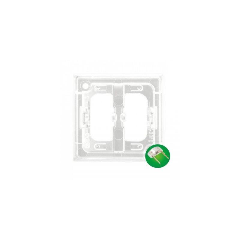 Osprzet-produkty-uzupelniajace - moduł podświetlenia led do włączników zielony zp-2uz aria ospel firmy OSPEL