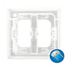 Osprzet-produkty-uzupelniajace - zespół podświetlenia led do włączników niebieski zp-2un aria ospel