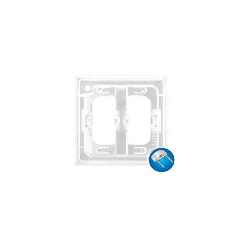 Osprzet-produkty-uzupelniajace - zespół podświetlenia led do włączników niebieski zp-2un aria ospel firmy OSPEL