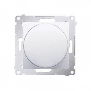 Biały sygnalizator świetlny LED - światło czerwone DSS2.01/11 Simon 54 Kontakt-Simon