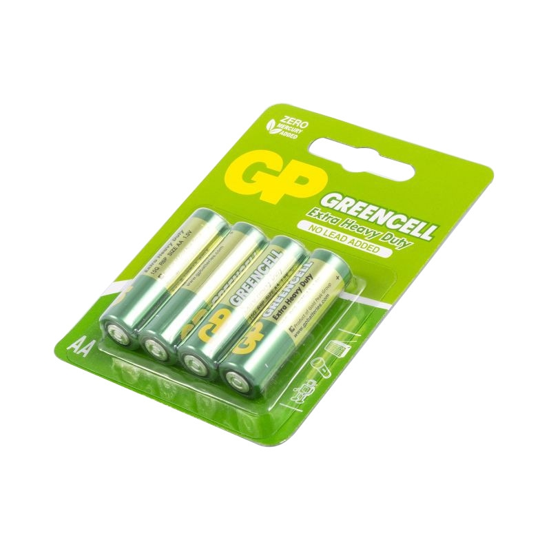Baterie - bateria paluszek aa komplet 4 sztuki greencell gp15g-2ue4 r6 firmy GP