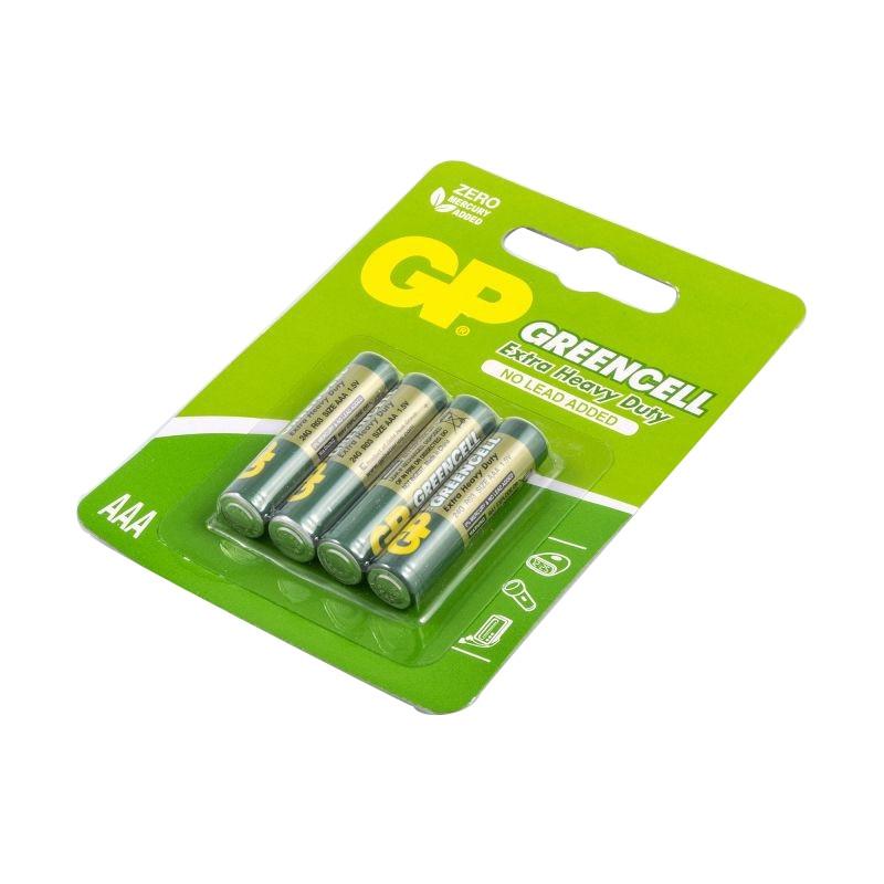 Baterie - bateria aaa cienki paluszek 4 sztuki gp greencell 24g-2ue4 r03 firmy GP