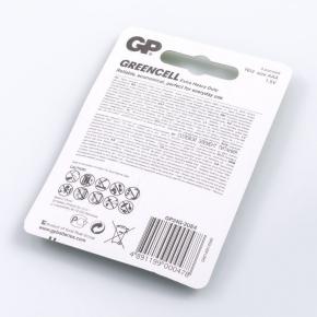 Baterie - bateria aaa cienki paluszek 4 sztuki gp greencell 24g-2ue4 r03