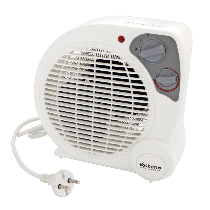 Farelki - mini termowentylator stojący biały vo0283 volteno firmy VOLTENO