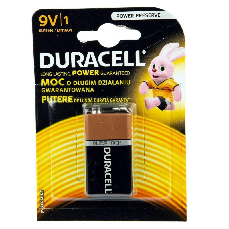 Baterie - bateria alkaliczna 9v 6lp3146/mn1604 duracell firmy DURACELL