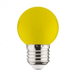 Żółta żarówka dekoracyjna...