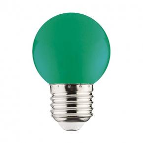Zielona żarówka dekoracyjna...