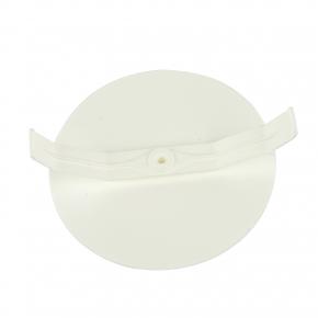 Puszki-podtynkowe - dekiel do puszki 60mm biały ws-60 simet