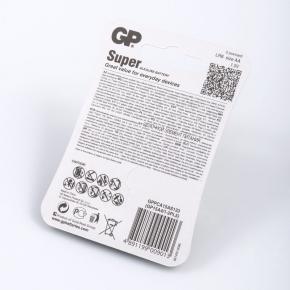 Baterie - baterie alkaliczne aa zestaw 5 sztuk gp super alkaline lr6 aa 1.5v