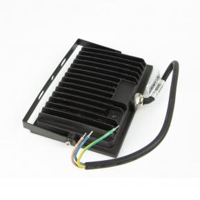 Naswietlacze-led-30w - naświetlacz led 30w czarny 6400k 2100lm ip65 in-fcx30w-64 innovo