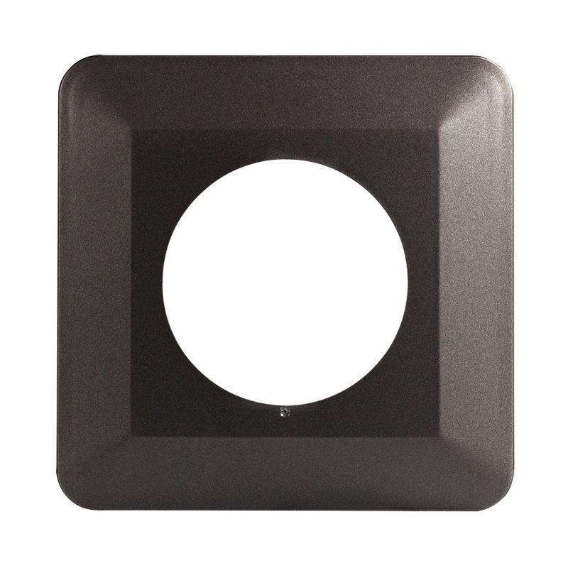 Oslony-sciany - ramka osłaniająca pod włączniki podtynkowe grafitowa osx-910 zamel firmy ZAMEL