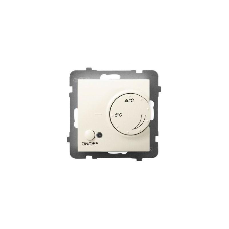 Regulatory-temperatury - regulator temperatury z czujnikiem podpodłogowym ecru rtp-1u/m/27 aria ospel firmy OSPEL