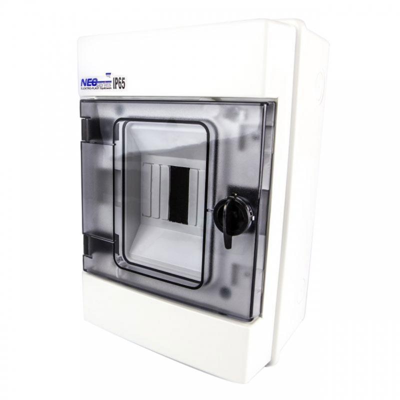 Skrzynki-elektryczne - rozdzielnia hermetyczna natynkowa 4 moduły rh-4 elektro plast firmy