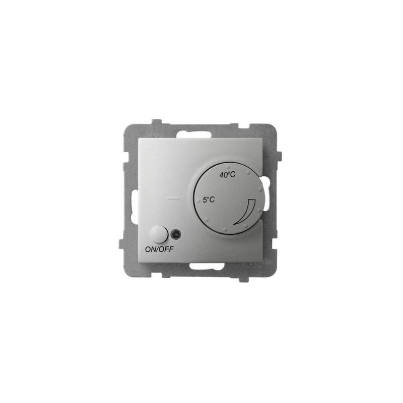 Regulatory-temperatury - regulator temperatury z czujnikiem podpodłogowym srebrny rtp-1u/m/18 aria ospel firmy OSPEL