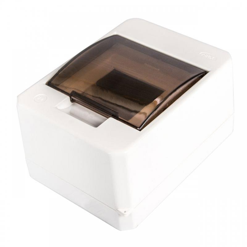 Skrzynki-elektryczne - skrzynka rozdzielcza natynkowa biała 4 modułowa s-4k plastrol firmy PLAST-ROL
