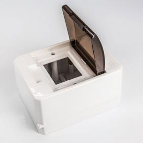 Skrzynki-elektryczne - skrzynka rozdzielcza natynkowa biała 4 modułowa s-4k plastrol