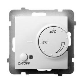 Regulator temperatury z czujnikiem podpodłogowym biały RTP-1U/m/00 ARIA OSPEL