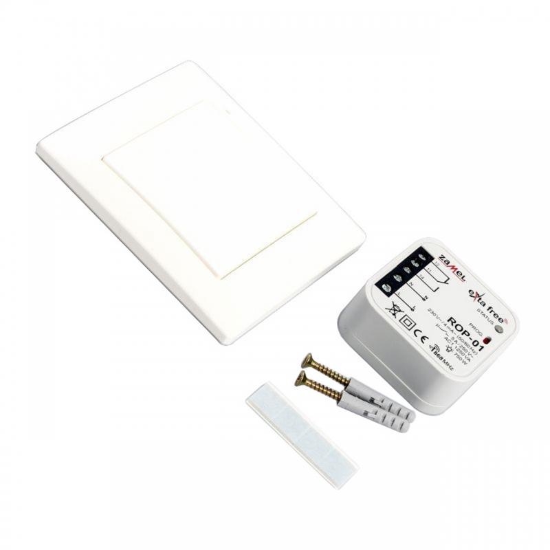 Piloty-i-nadajniki - zestaw sterowania bezprzewodowego do oświetlenia rzb-01 zamel exta free (rnk-02+rop-01) firmy ZAMEL