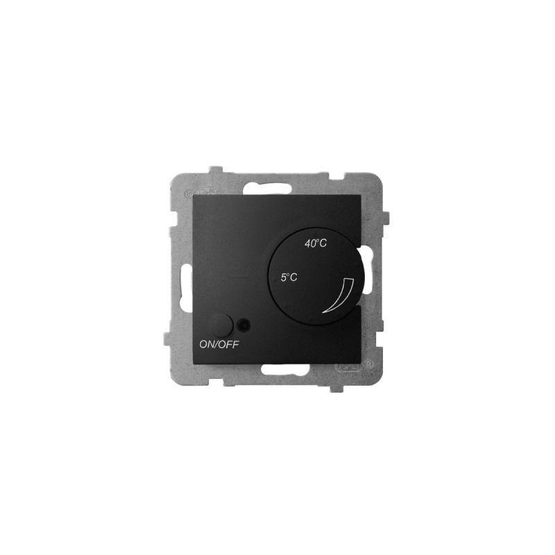 Regulatory-temperatury - regulator temperatury z czujnikiem napowietrznym czarny metalik rtp-1un/m/33 aria ospel firmy OSPEL