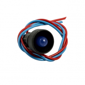 Lampki-kontrolne - lampka kontrolna 10/b 12-24 niebieska simet