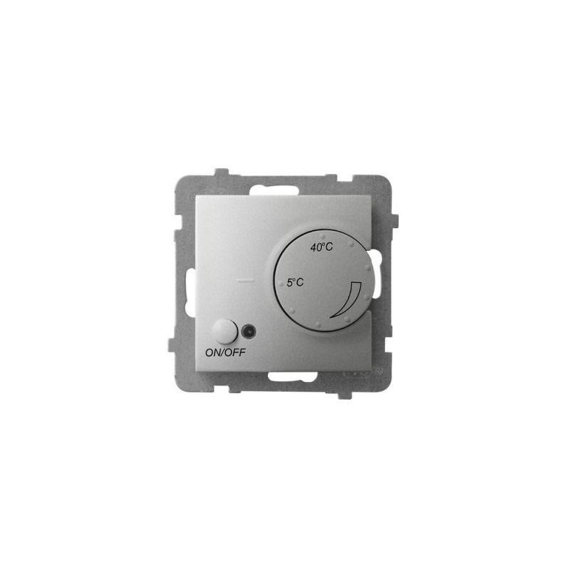 Regulatory-temperatury - regulator temperatury z czujnikiem napowietrznym srebrny rtp-1un/m/18 aria ospel firmy OSPEL