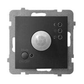 Elektroniczny czujnik ruchu czarny metalik ŁP-16U/m/33 ARIA OSPEL