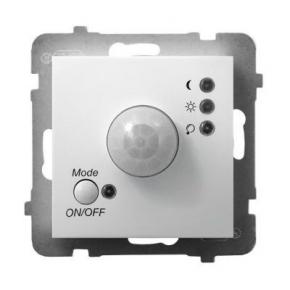 Elektroniczny czujnik ruchu biały ŁP-16U/m/00 ARIA OSPEL