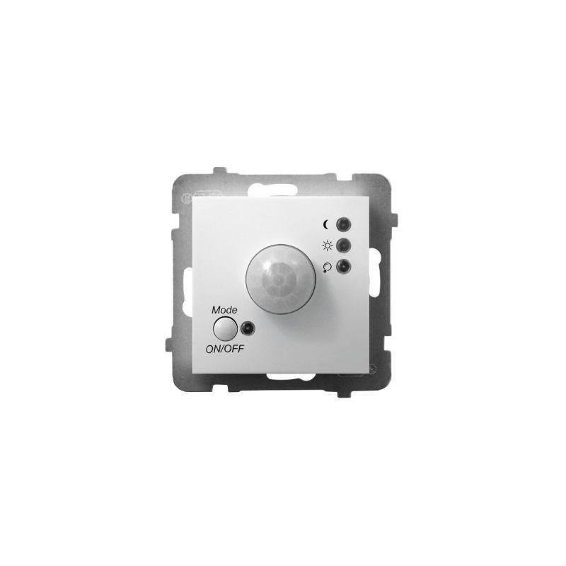 Elektroniczne-czujniki-ruchu - elektroniczny czujnik ruchu biały łp-16u/m/00 aria ospel firmy OSPEL