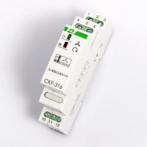 Przekazniki-kontroli-faz - przekaźnik zaniku fazy ckf-316 f&f