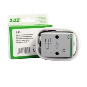 Wylaczniki-zmierzchowe - automat wyłącznik zmierzchowy hermetyczny ip65 10a azh f&f