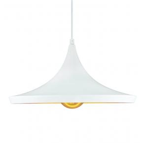 Biała lampa sufitowa...